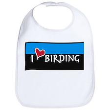 I Love Birding Bib