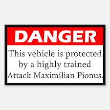 Danger Attack Maximilian Pionus Decal
