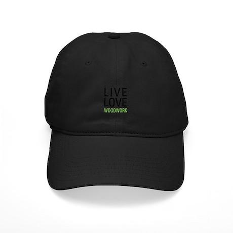 Live Love Woodwork Black Cap