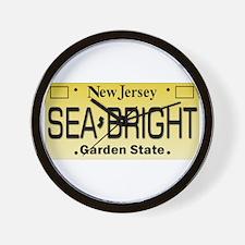 Sea Bright NJ Tag Gifts Wall Clock