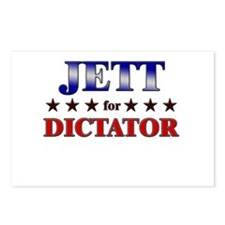 JETT for dictator Postcards (Package of 8)