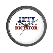 JETT for dictator Wall Clock