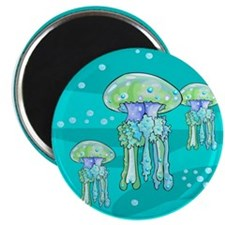 "Jumpin Jellyfish 2.25"" Magnet (10 pack)"