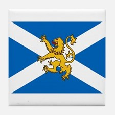 Flag of Scotland - Lion Rampant Tile Coaster