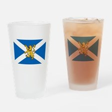Flag of Scotland - Lion Rampant Drinking Glass