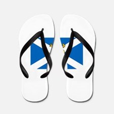 Flag of Scotland - Lion Rampant Flip Flops