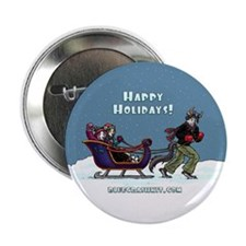 "BCK Happy Holidays 2.25"" Button"