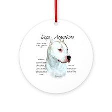 Dogo Argentino Ornament (Round)