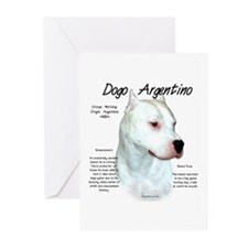 Dogo Argentino Greeting Cards (Pk of 20)