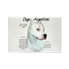 Dogo Argentino Rectangle Magnet (100 pack)