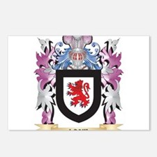 Lane- Coat of Arms - Fami Postcards (Package of 8)