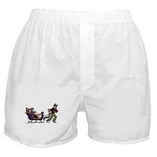 BCK Happy Holidays Boxer Shorts