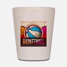 Basketball Sport Ball Game Cool Shot Glass