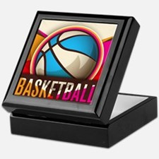 Basketball Sport Ball Game Cool Keepsake Box