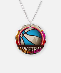 Basketball Sport Ball Game C Necklace