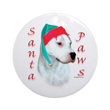 Dogo Paws Ornament (Round)