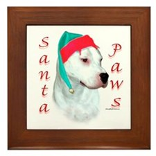 Dogo Paws Framed Tile
