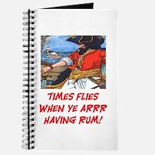 TIME FLIES WHEN YE ARR HAVING RUM Journal