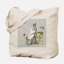 Seated Zombie Lady Tote Bag