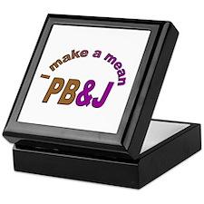 I Make a Mean PB&J Keepsake Box