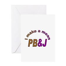 I Make a Mean PB&J Greeting Card