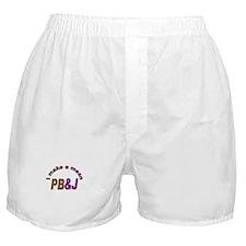 I Make a Mean PB&J Boxer Shorts