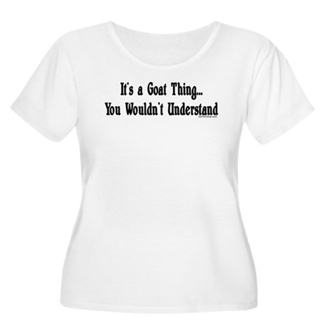 A Goat Thing Women's Plus Size Scoop Neck T-Shirt