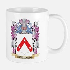 Langlands Coat of Arms - Family Crest Mugs