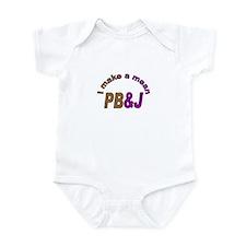 I Make a Mean PB&J Infant Bodysuit