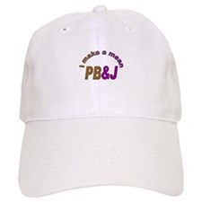 I Make a Mean PB&J Baseball Cap