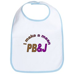 I Make a Mean PB&J Bib
