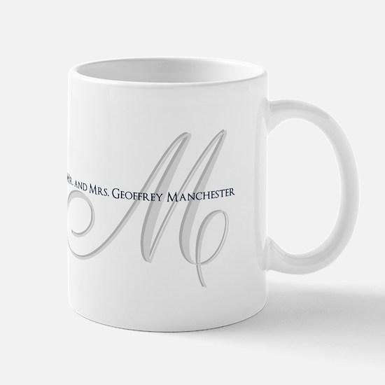 Elegant Name and Monogram Mugs