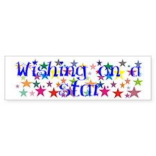 Wishing Stars Bumper Bumper Sticker