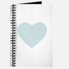 Delicate Baby Blue Heart by LH Journal