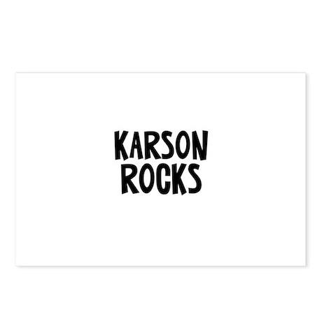 Karson Rocks Postcards (Package of 8)
