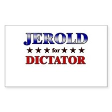 JEROLD for dictator Rectangle Decal
