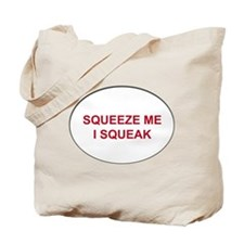 Cute Squeaky Tote Bag