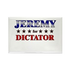 JEREMY for dictator Rectangle Magnet