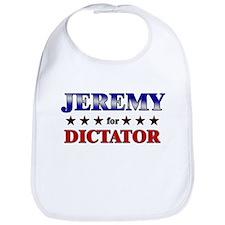 JEREMY for dictator Bib