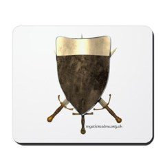 Knight Templar Shield Mousepad