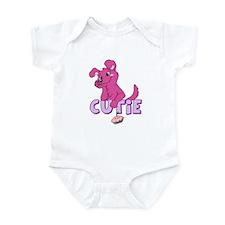 Cutie Pie-Pink Infant Bodysuit