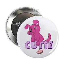 """Cutie Pie-Pink 2.25"""" Button"""