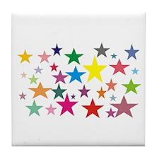 Stars Tile Coaster