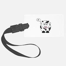 cow says mu Luggage Tag