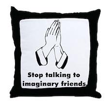 Funny Anti-Religion T-shirts Throw Pillow