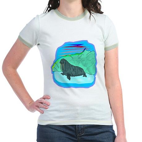 Walrus Jr. Ringer T-Shirt