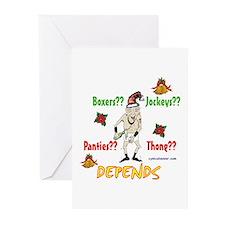 Underwear dilemma Greeting Cards (Pk of 10)