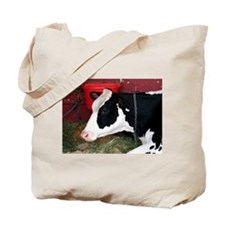 Cow & Pig Tote Bag