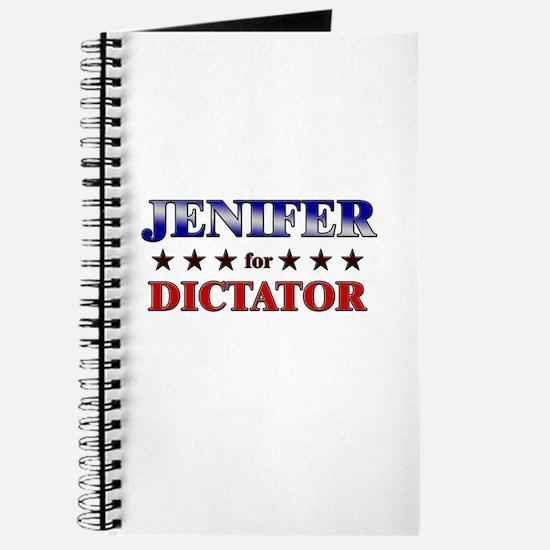 JENIFER for dictator Journal