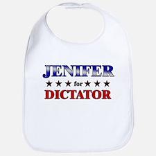JENIFER for dictator Bib